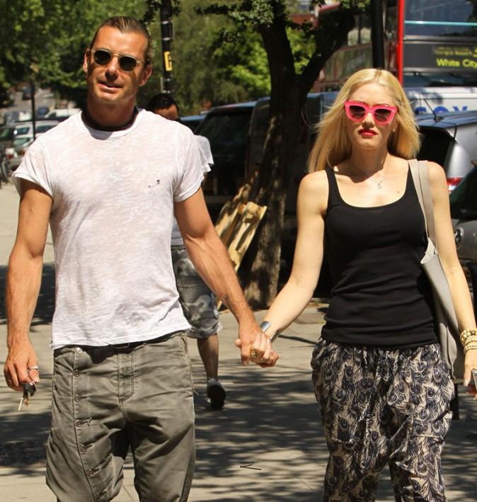Gwen Stefani et son mari à Londres