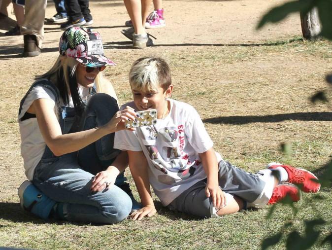 Gwen Stefani : journée en famille pour trouver la citrouille parfaite !