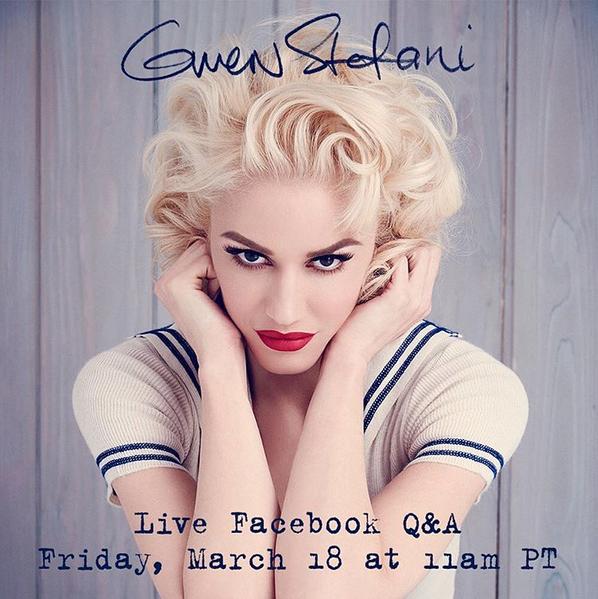 """Photos : Gwen Stefani : """"morte"""" hier, elle revient dans les bacs !"""