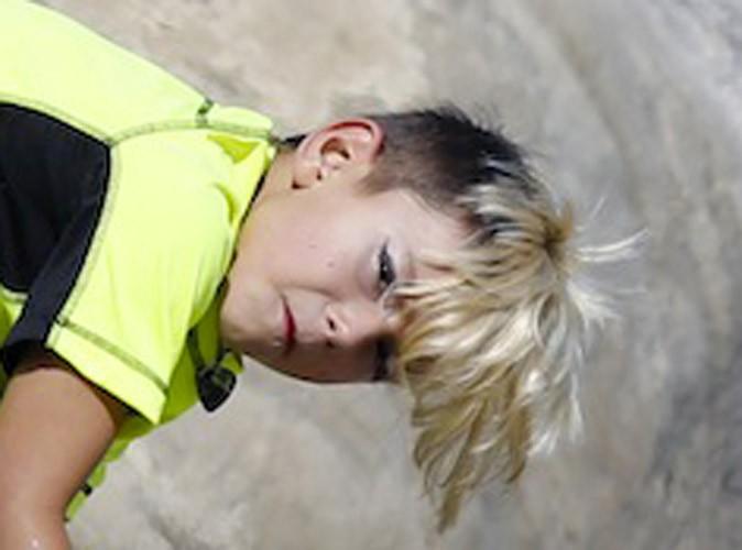 Photos : Gwen Stefani : son fils de 7 ans maquillé pour aller à la plage !