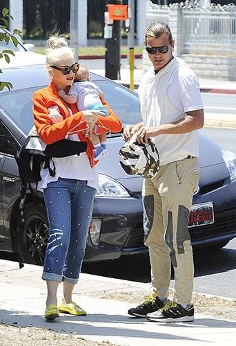 Gwen Stefani en famille à Los Angeles le 25 mai 2014