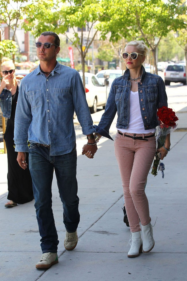 Avec son mari Gavin Rossdale qui la fait beaucoup marcher !