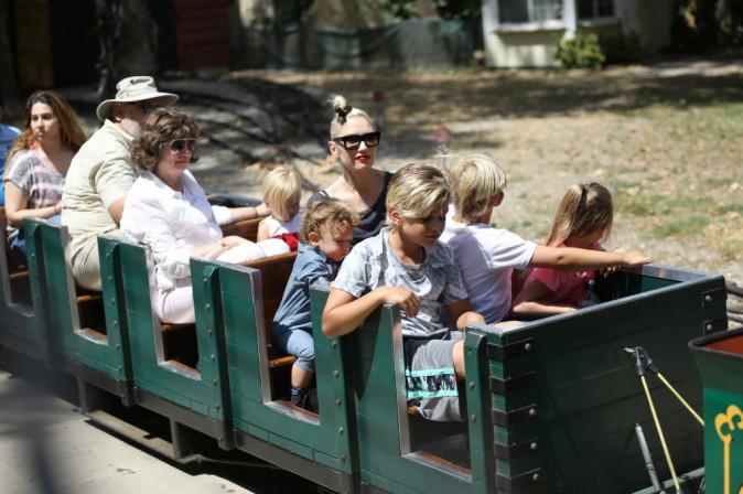 Gwen Stefani : un parfait dimanche en famille !