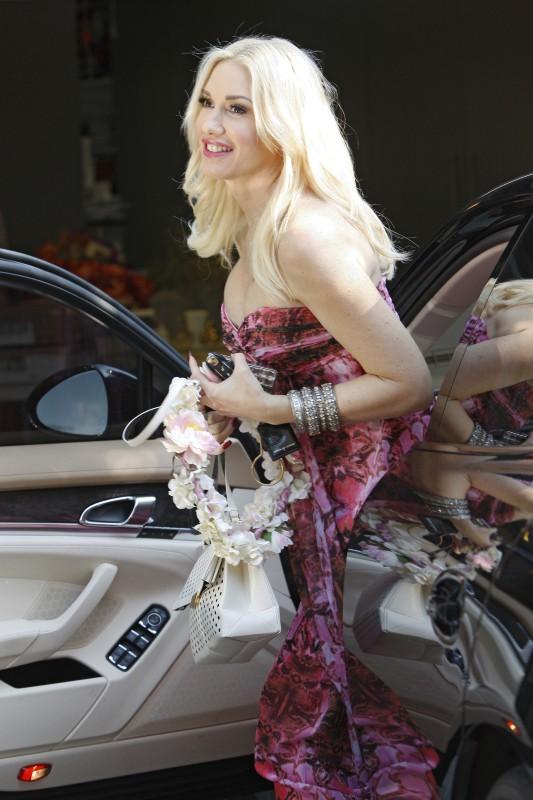 Gwen Stefani à Los Feliz, le 3 novembre 2013.