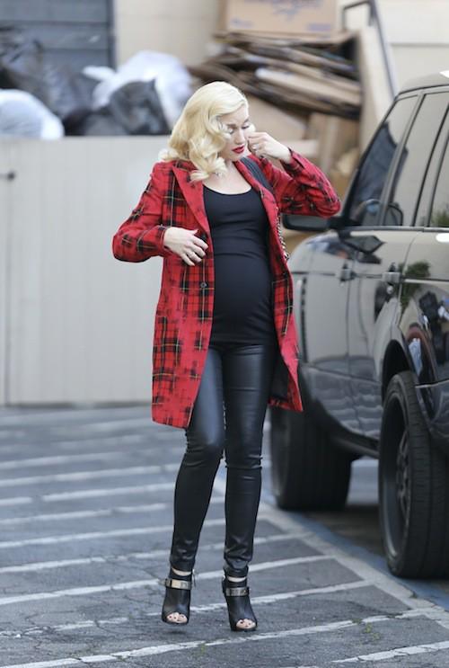 Photos : Gwen Stefani : une future maman ultra lookée, une fois de plus !