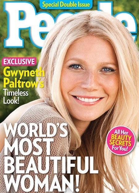 Gwyneth Paltrow : Plus belle femme du monde selon le magazine People !