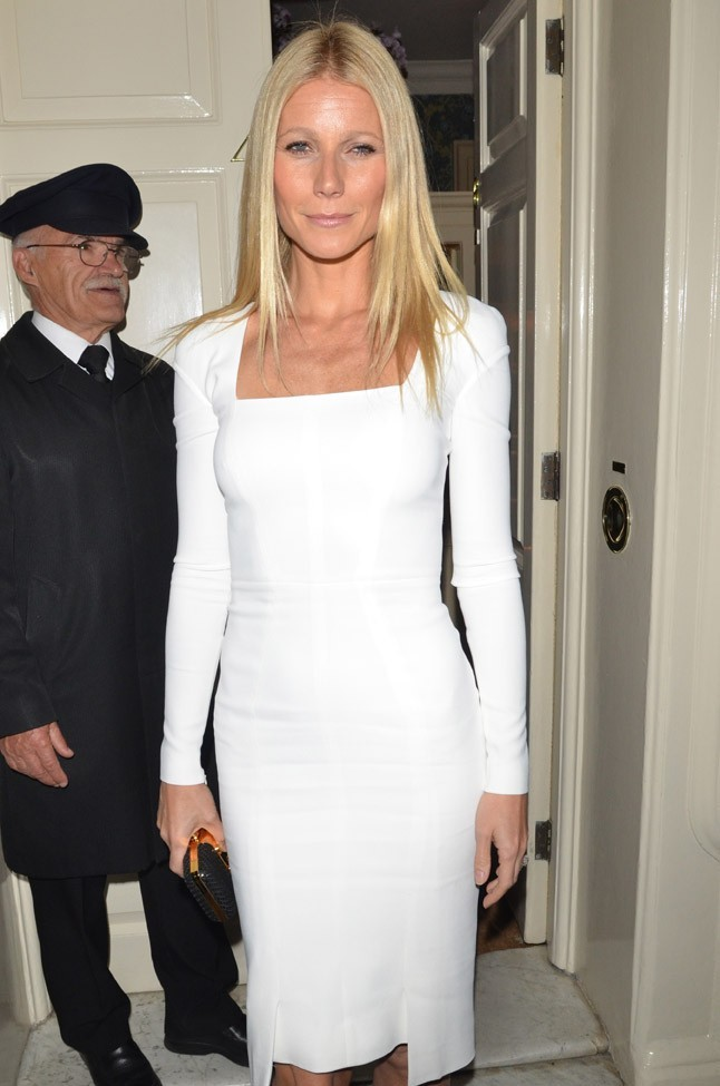 Gwyneth Paltrow à Londres le 19 septembre pour Obama Victory Fund 2012