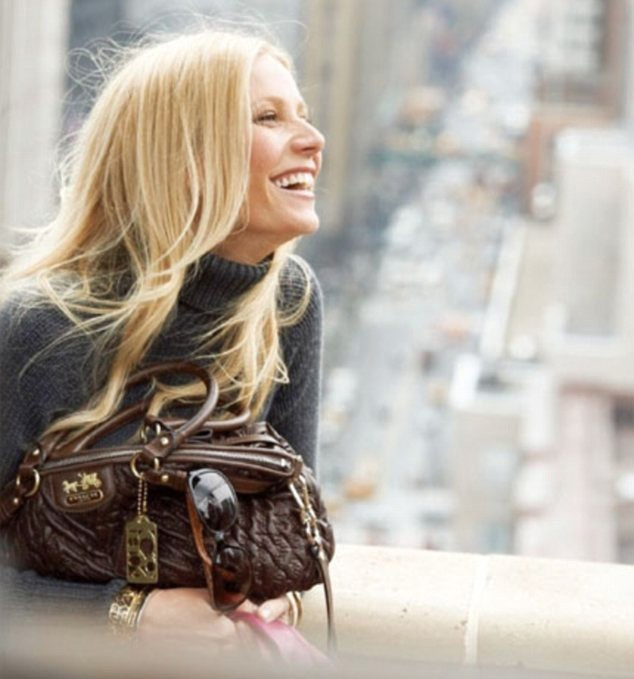 Gwyneth Paltrow ambassadrice de la nouvelle collection de sacs Coach !