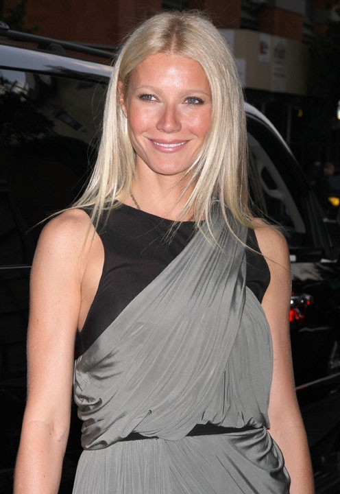 L'actrice américaine Gwyneth Paltrow !