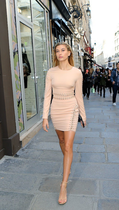"Photos : Hailey Baldwin : une ""Crazy Girl"" à Paris !"