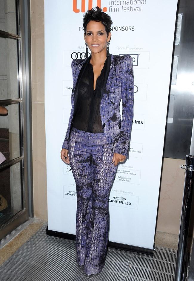 Halle Berry au Festival International du Film de Toronto le 8 septembre 2012