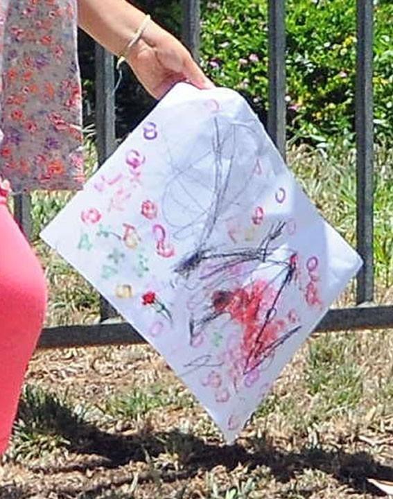 Nahla une artiste en herbe ?!