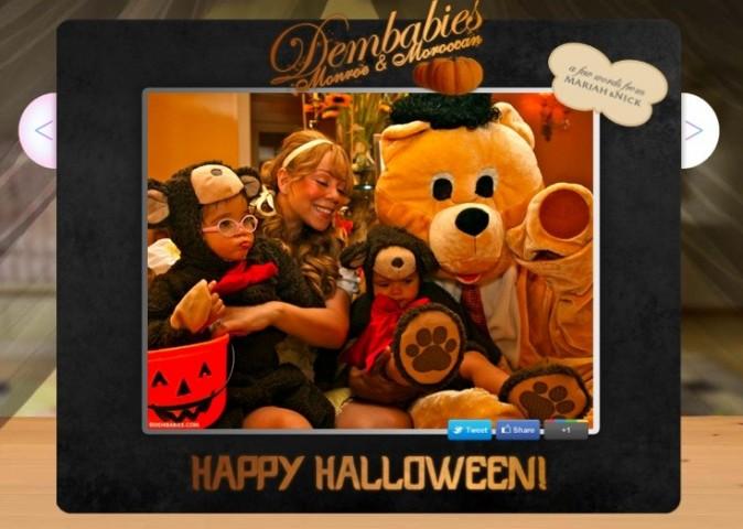 Jolie photo de famille pour Halloween !