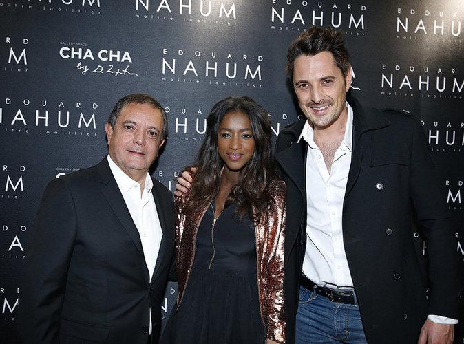 Photos : Hapsatou Sy et Vincent Cerruti : Couple glamour à la soirée Edouard Nahum !