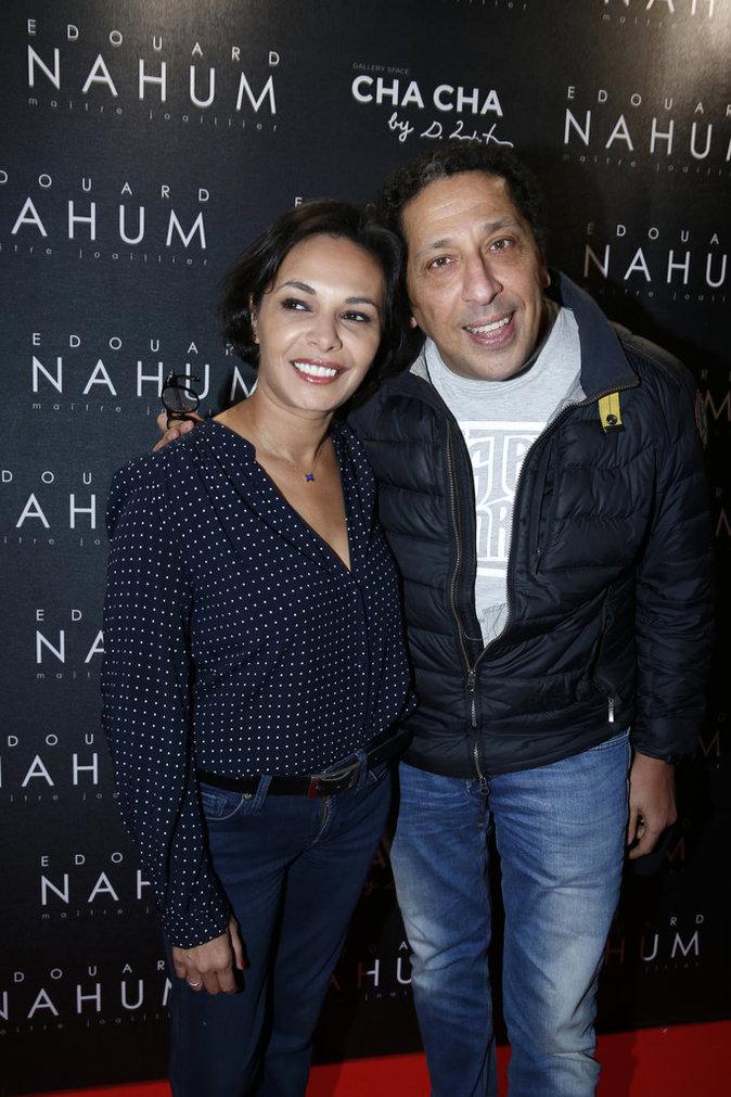 Saïda Jawad et Smaïn à Paris le 6 décembre 2016