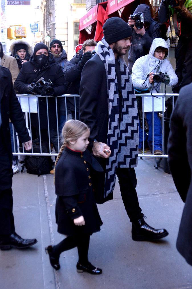 Photos : Harper Beckham vole la vedette à Victoria !