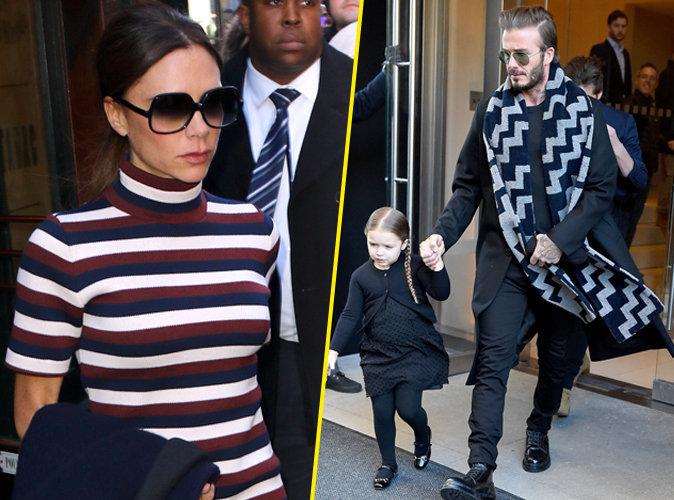Harper Beckham vole la vedette � Victoria !