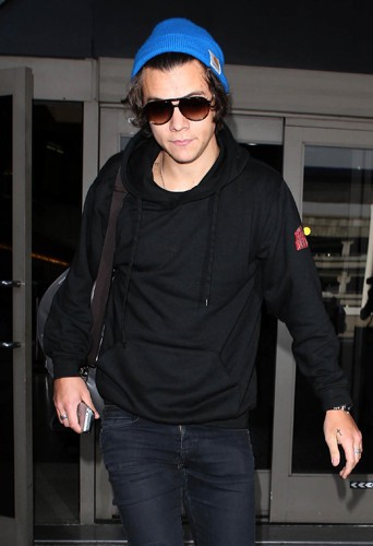 Harry Styles à Los Angeles le 20 février 2014
