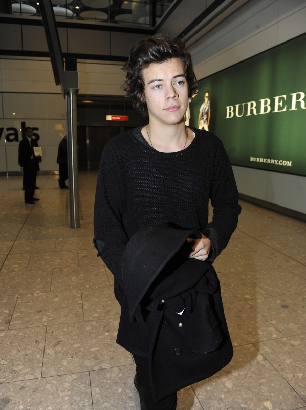 Harry Styles, Londres, 28 janvier 2013.