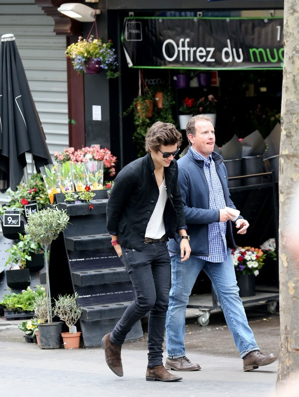 Harry Styles, à Paris