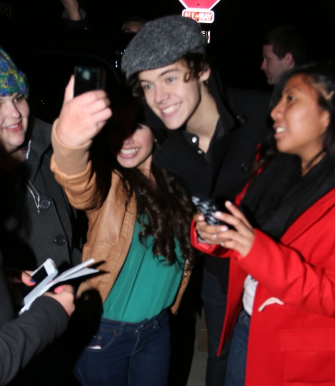 Harry Styles le 19 décembre 2012 à Studio City, en Californie