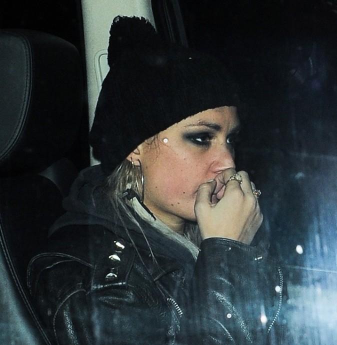 Harry Styles avec une mystérieuse inconnue à Londres le 22 janvier 2013