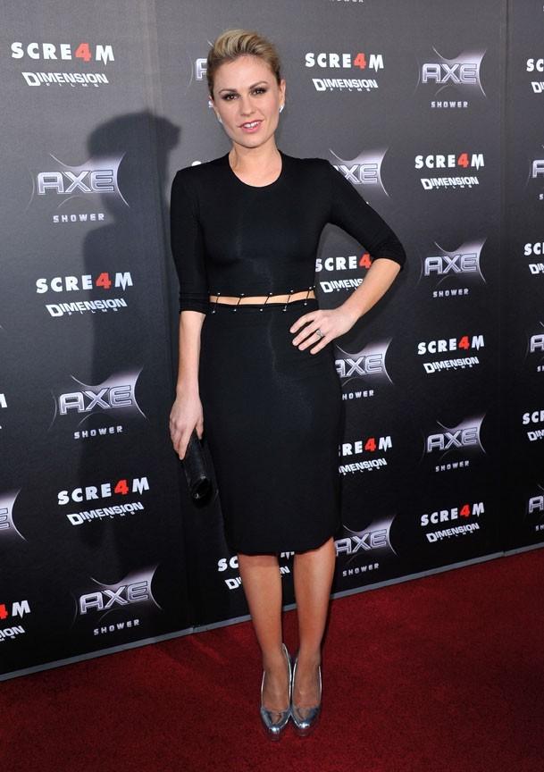 Anna Paquin, l'héroïne de True blood...dans Scream 4 aussi, ça va saigner !