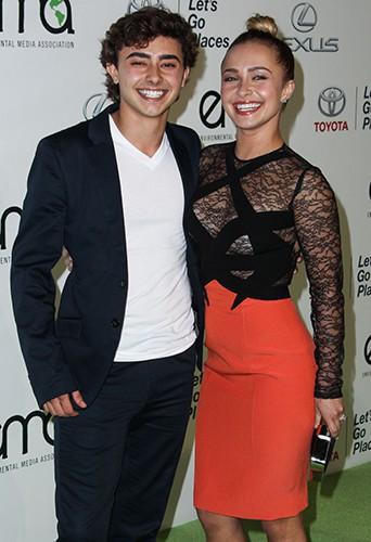 Hayden Panettiere et son frère Jansen à Los Angeles le 19 octobre 2013