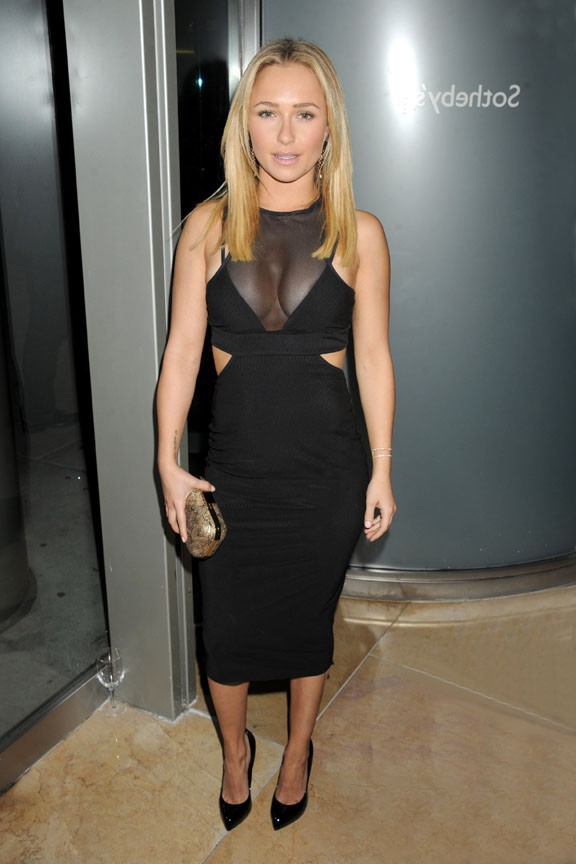 Hayden Panettiere à un gala de charité organisé à New-York le 23 novembre 2013