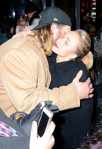 Hayden Panettiere à New-York le 1er février 2014