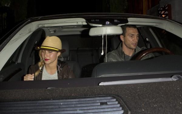 Hayden Panettiere a dîné avec son fiancé Wladimir