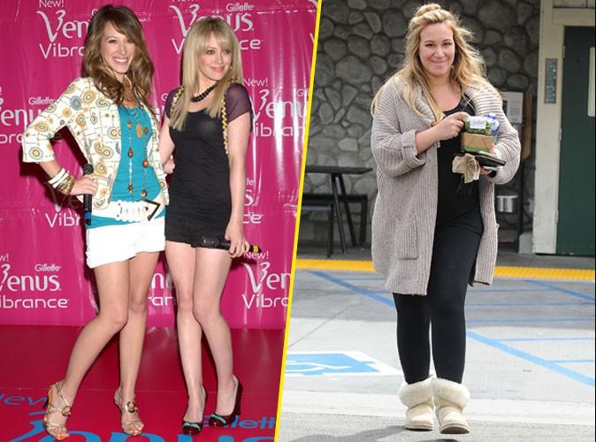 Haylei Duff en 2005 et 2015