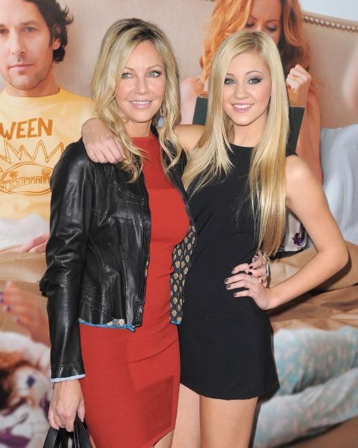 Heather Locklear et sa fille Ava le 12 décembre 2012 à Los Angeles