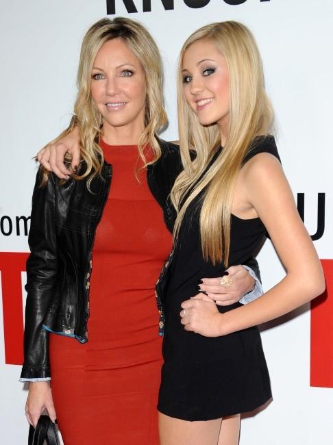 Heather Locklear et sa fille Ava le 12 décembre 2012 à Los AngelesA