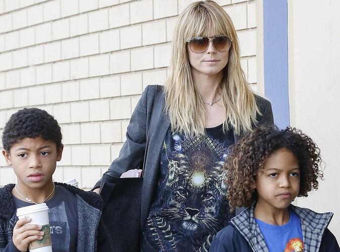 Heidi Klum : dur dur le retour à la vie de maman célibataire !