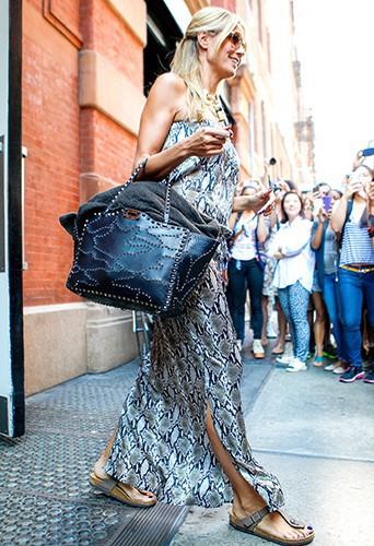 Heidi Klum à New-York le 6 août 2013