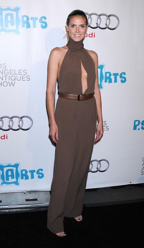 Heidi Klum à Los Angeles, le 13 avril 2011.
