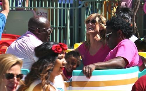 Photos : Heidi Klum : elle retrouve Seal pour une sortie à Disney avec toute leur tribu !