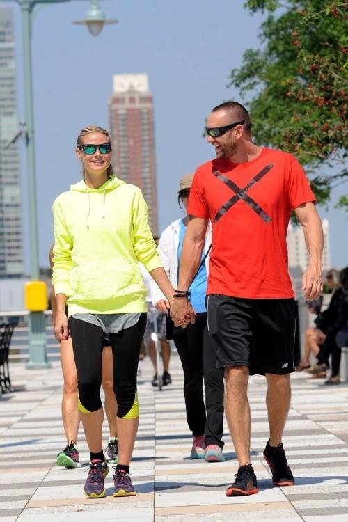 Photos : Heidi Klum : en pleine séance de sport ultra romantique avec son boyfriend !