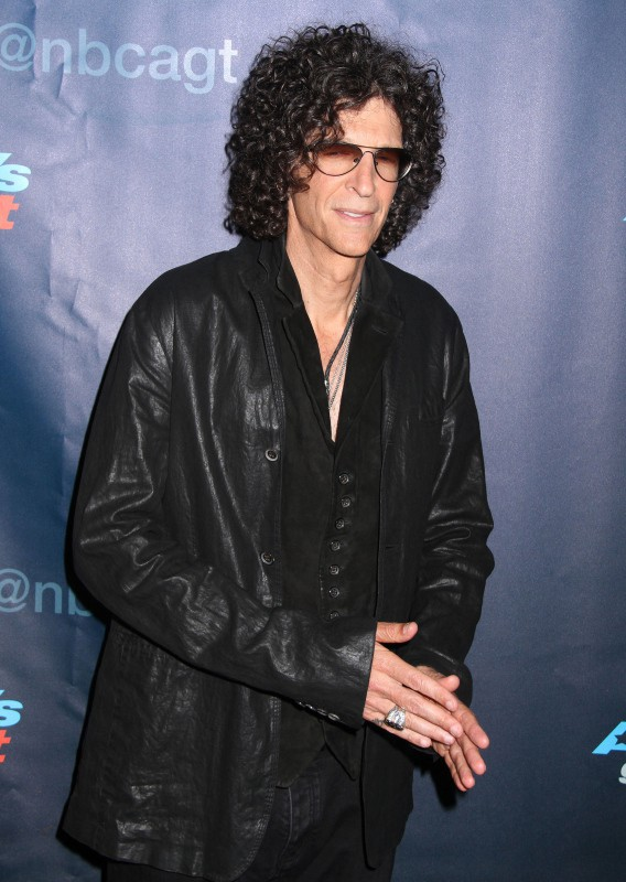 "Howard Stern lors de la soirée ""America's Got Talent"" à New York, le 7 août 2013."