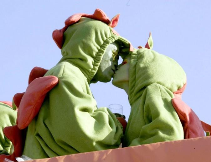 Même les dinosaures se font des bisous !