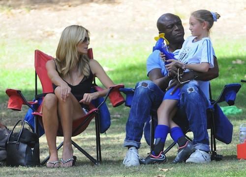 Photos : Heidi Klum et Seal : retrouvailles en famille pour les deux ex !