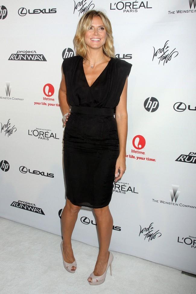 Heidi Klum le 17 juillet 2012 à New York