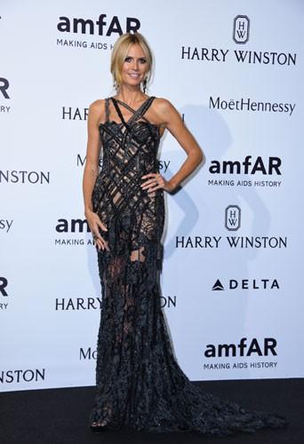 Photos : Heidi Klum, Naomi Campbell, Ciara… La mode mobilisée au gala de l'AmfAR !