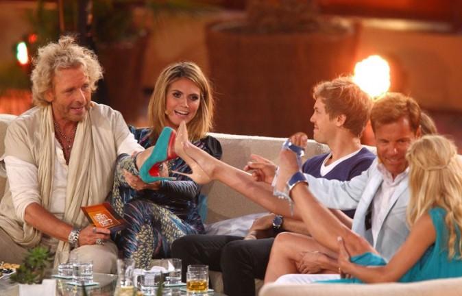 Du combien Heidi peut-elle chausser ?