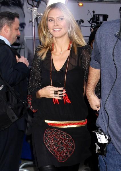 Heidi Klum le 3 décembre 2012 à New York