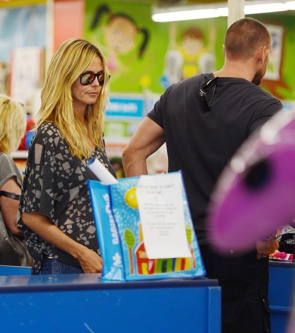 Heidi Klum et son chéri Martin Kristen le 28 avril 2013 à Los Angeles
