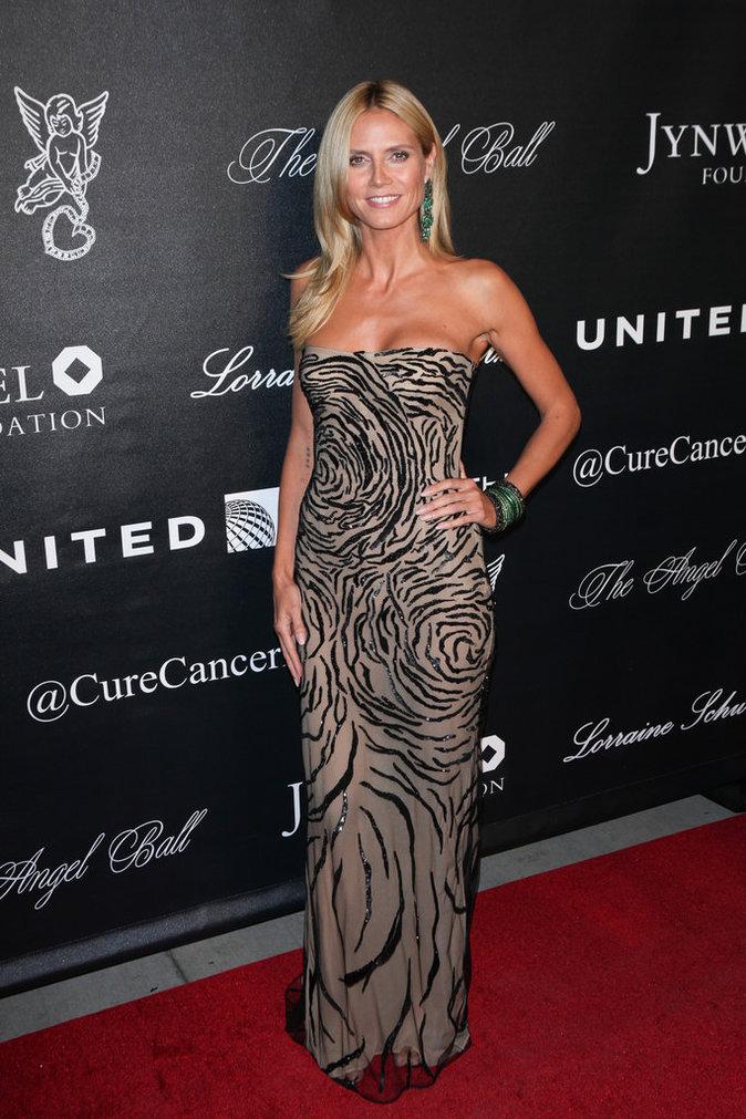 Heidi Klum le 19 octobre 2015