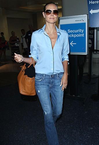 Heidi Klum à Los Angeles le 15 août 2014