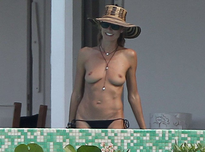 Heidi Klum : TOP(less) ses vacances de rêve à Saint-Barth' !